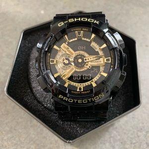 """Casio """"Gold Leaf"""" G Shock Analog And Digital Watch"""